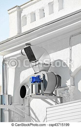 ventilation, industriel, système - csp43715199