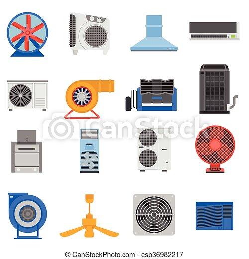 Ventilation vector illustration. - csp36982217