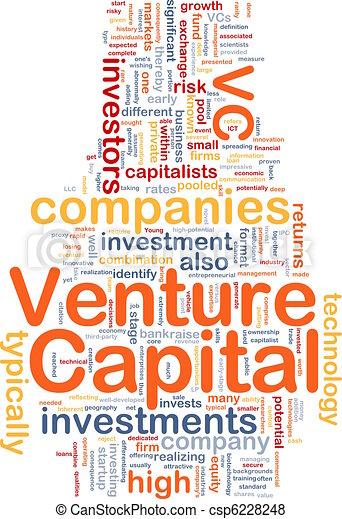 Venture capital is bone background concept - csp6228248