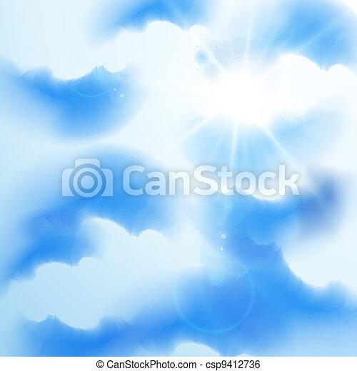 verão, céu - csp9412736
