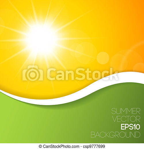 verão, fundo - csp9777699