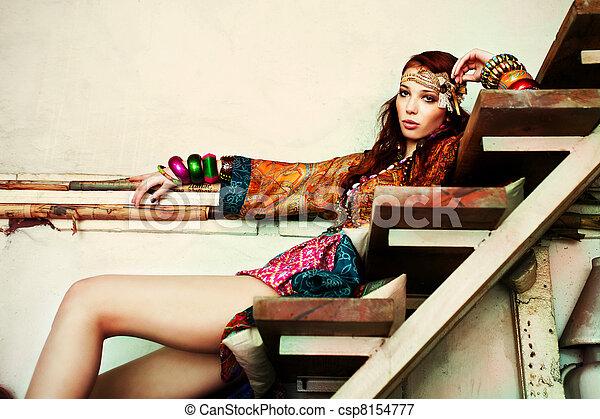 verão, moda - csp8154777