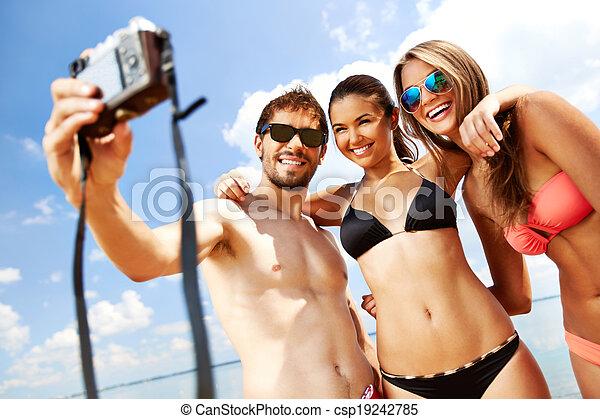 verão, momento - csp19242785