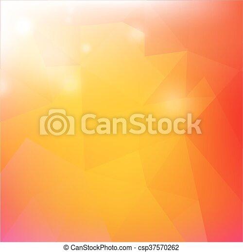 Un póster de rebajas de verano con sol - csp37570262