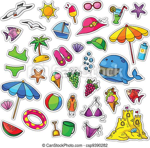 Colección de verano - csp9390282