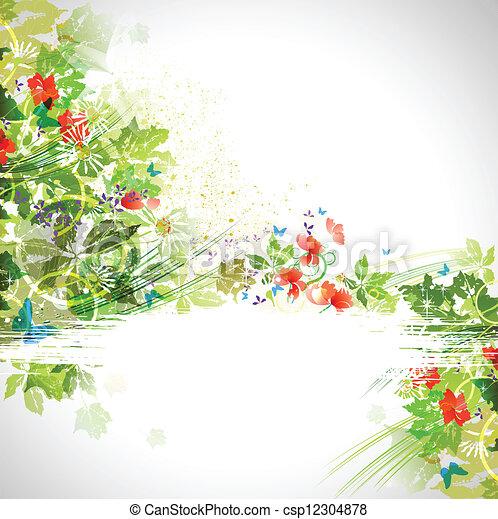 Composición de verano - csp12304878