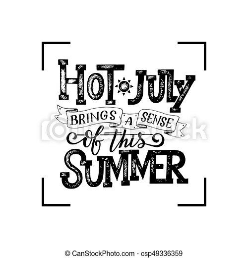 Verano, contenido, banner., letras, medios, social, soleado, sobre ...