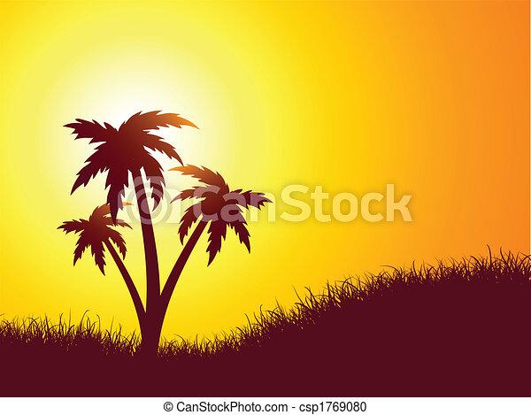 Escena de verano - csp1769080