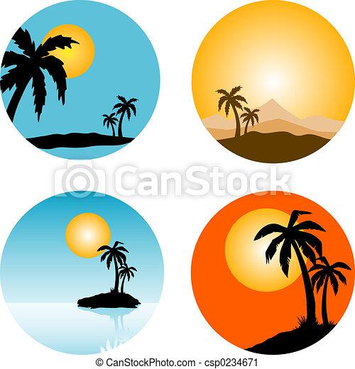 Escenas de verano - csp0234671