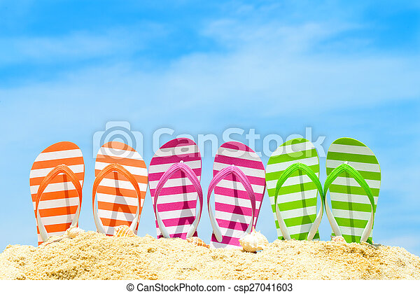 Summer Beach - csp27041603