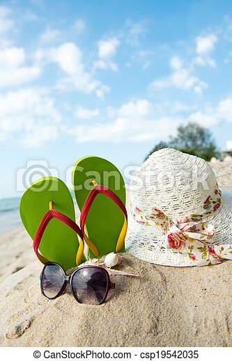 Summer Beach - csp19542035