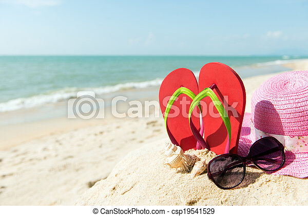 Summer Beach - csp19541529