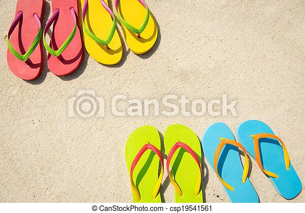 Summer Beach - csp19541561