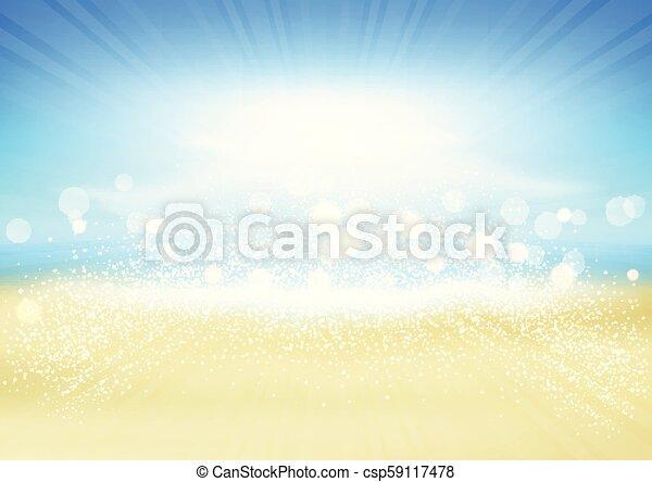 Trasfondo de Summer Beach - csp59117478