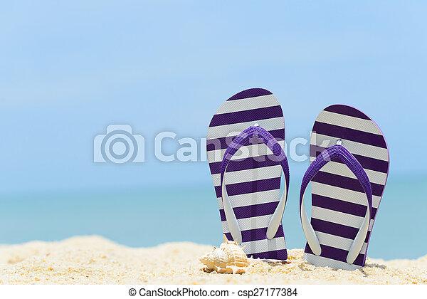Summer Beach - csp27177384