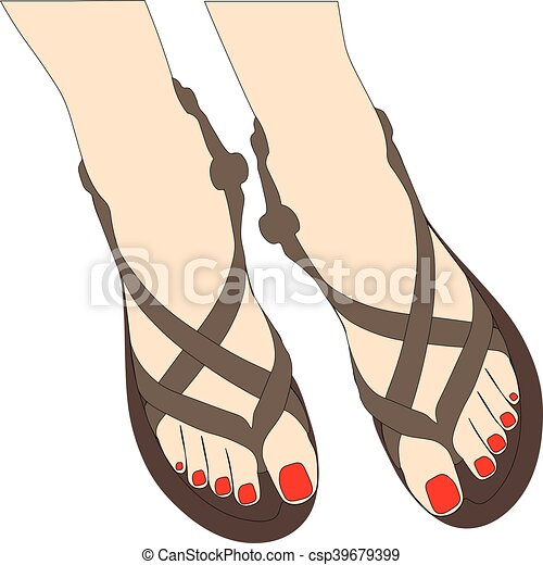 Zapatos de verano - csp39679399