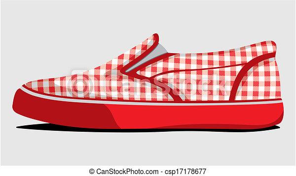 Zapatos de verano - csp17178677