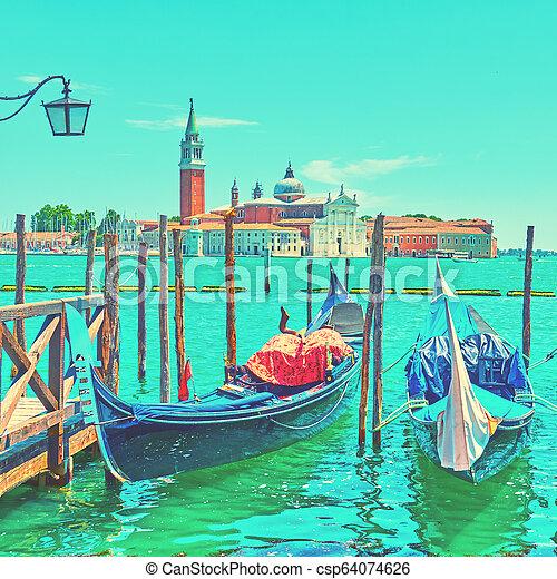 Verano en Venecia - csp64074626