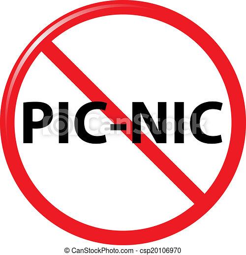 Picknick Verboten