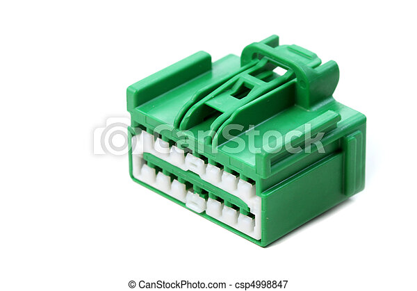 verbinder, grün - csp4998847