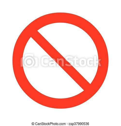 KiГџ Logo Verboten