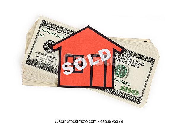 Concepto de bienes raíces - csp3995379