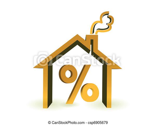 Descuentos de bienes raíces - csp6905679