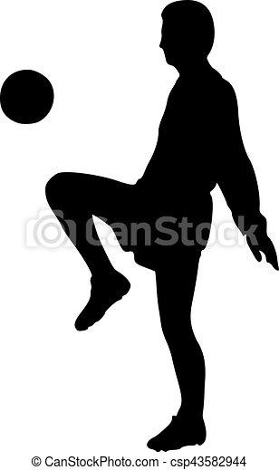 Jugador de fútbol real - csp43582944