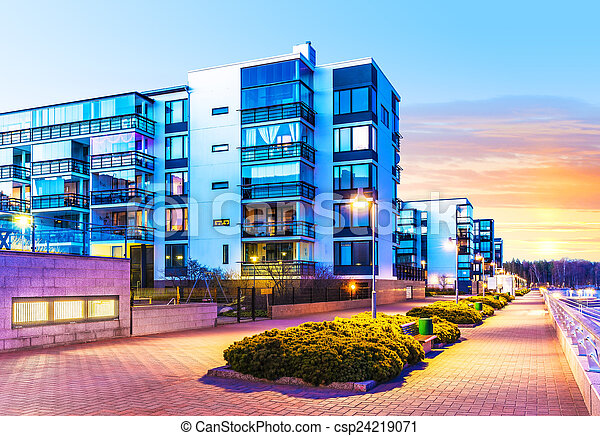 Inmobiliaria moderna - csp24219071