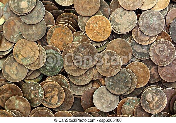 Coin peseta verdadera república spain 1937 moneda y centavos - csp6265408