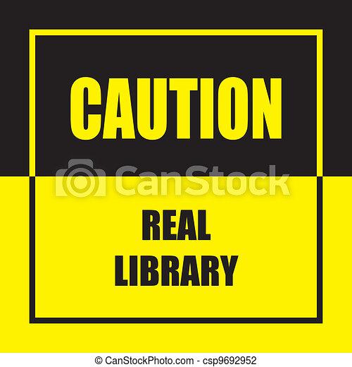 Una biblioteca de verdad - csp9692952