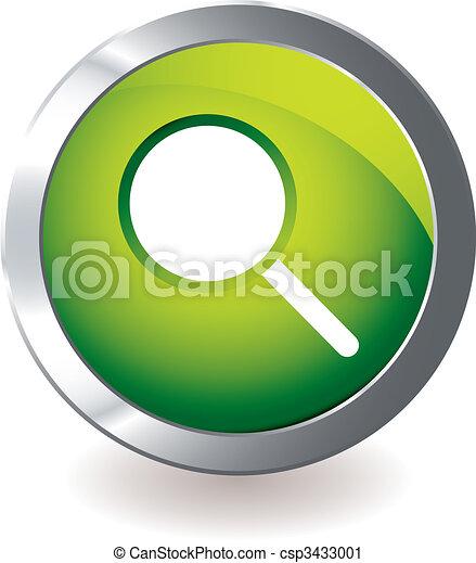 El icono verde se amplía - csp3433001