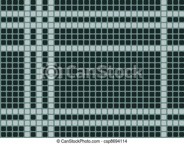 Azulejos verdes, empapelado sin costura - csp8694114