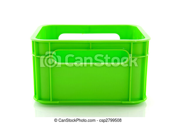 Caja verde vacía - csp2799508