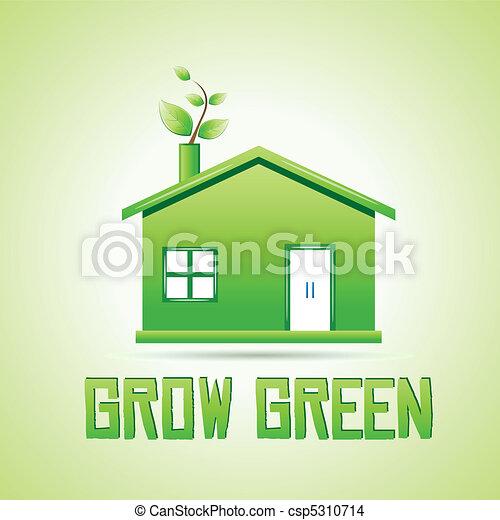 Crecer verde - csp5310714
