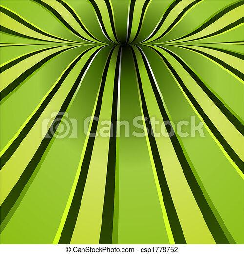 verde, espiral, fundo - csp1778752