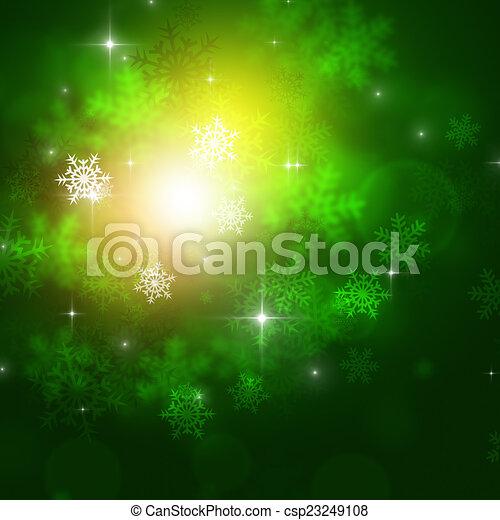 Antecedentes verdes de invierno - csp23249108