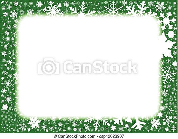 Trasfondo verde de Navidad - csp42023907