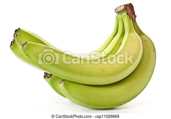 Banana verde - csp11026669