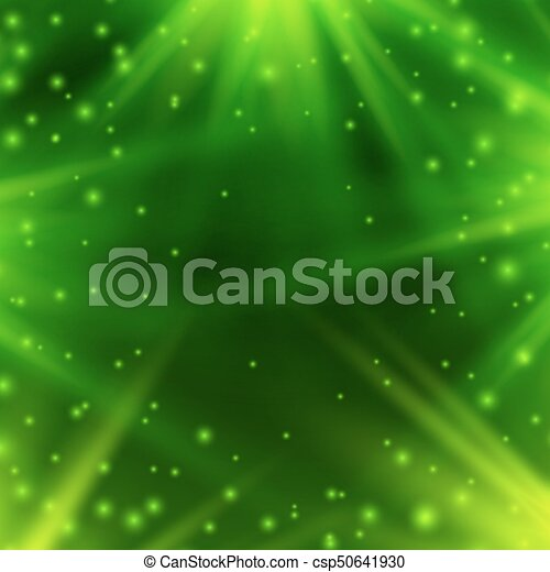 verde, raggi, neon, light., fondo - csp50641930