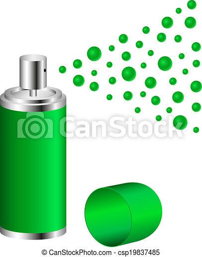 Rocía en diseño verde - csp19837485