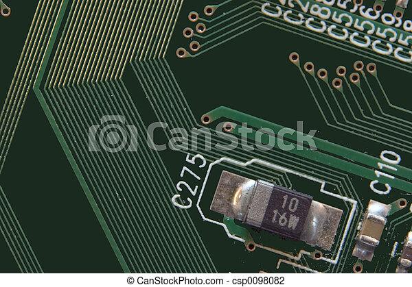 Una tabla verde - csp0098082