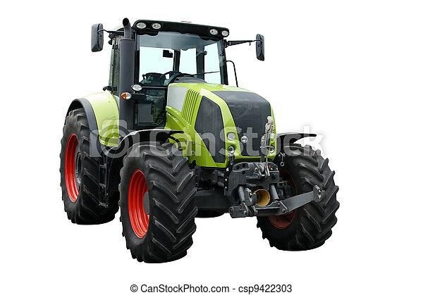 tractor verde - csp9422303