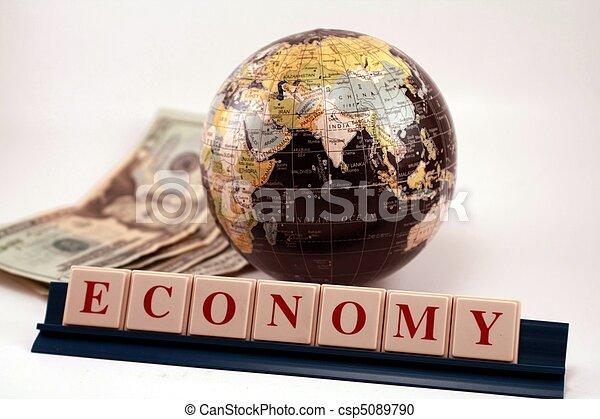 verden, global økonomi, firma, handel - csp5089790