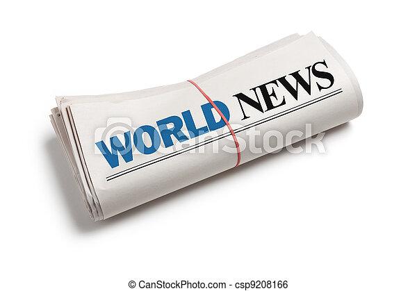 verden, nyhed - csp9208166