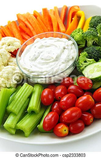 verdura, abbassarsi - csp2333803