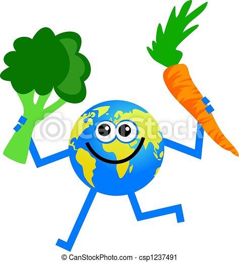 verdura, globo - csp1237491