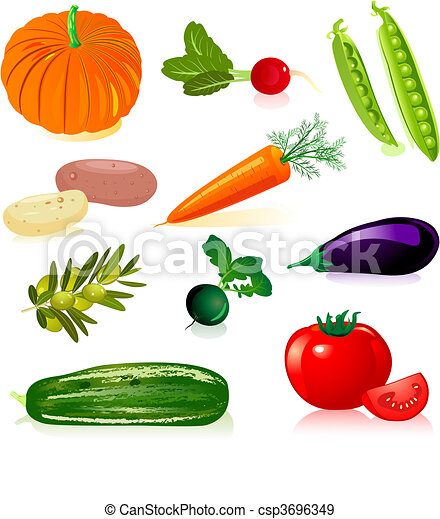 verdura, set - csp3696349