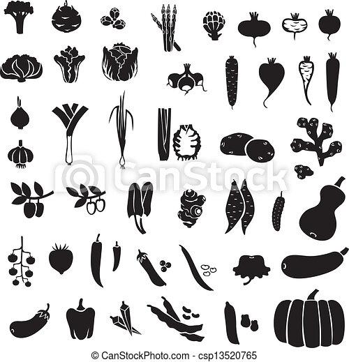 verdura, set - csp13520765
