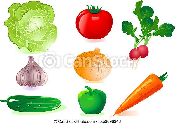 verdura, set - csp3696348